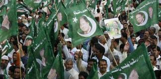 PML-N rally in Abbottabad