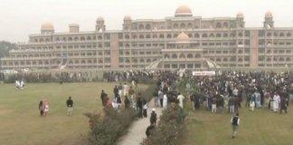 Peshawar University Students' Protest