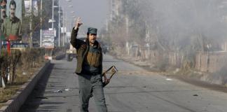 Afghanistan, Jalalabad suicide bomb blast