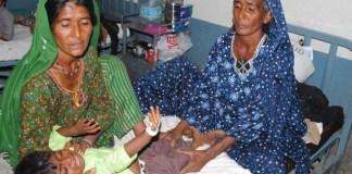 Five children die of malnutrition in Tharparkar
