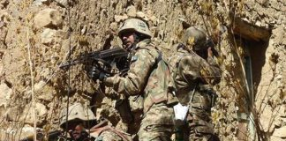 Security forces search operation in Khyber Agency