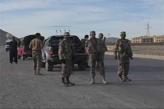Security forces search operations in Balochistan