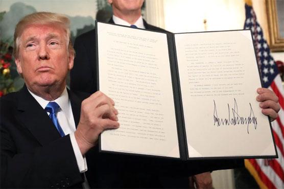 Trump recognizes Jerusalem as Israel capital