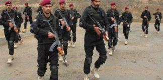 KP Government CPEC, security force