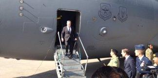 US Defense Secretary James Mattis arrived in Pakistan