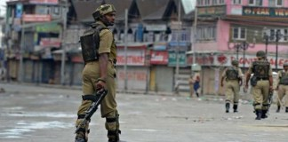 Shutter down strike in Occupied Kashmir