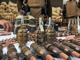 Security forces recover arms, ammunition from South Waziristan