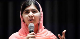 Malala calls for rebuilding of torched schools in Diamer