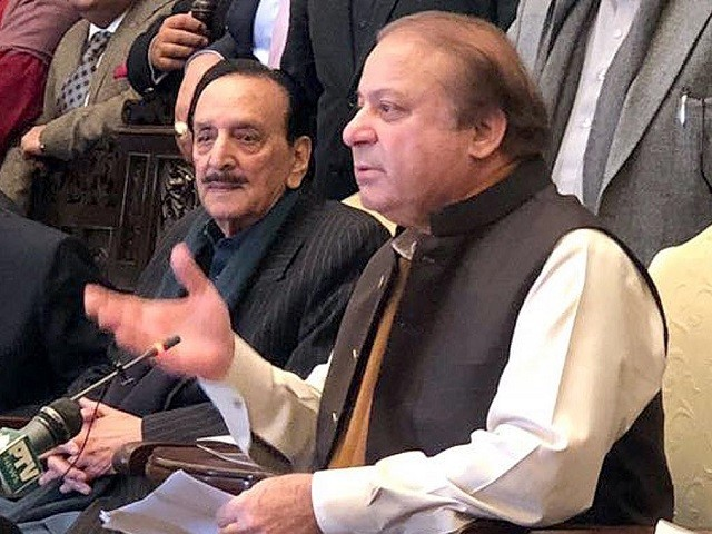 Nawaz Sharif chairs PML-N's consultative meeting at Punjab House