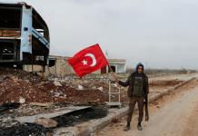 Turkish forces push into Syria, battle Kurdish militia