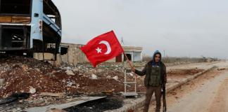 Turkish forces push into Syria, battle Kurdish militia
