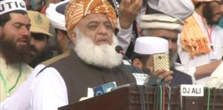 Fazlur Rehman criticizes Darul Uloom Haqqania for taking grants from KP govt