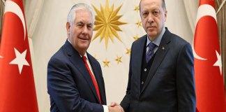 Tillerson meets Erdogan to ease US-Turkey tensions