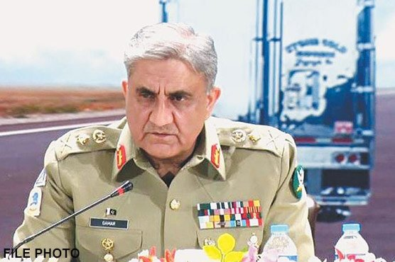 Pakistan stand with Kashmiri brothers and sisters: COAS Gen Bajwa