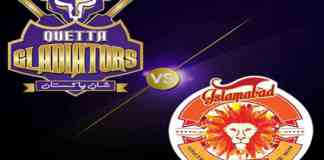 Islamabad United, Quetta Gladiators to lock horns in Sharjah tonight