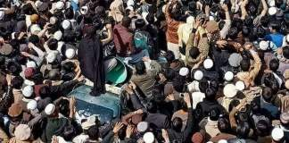 Bajaur residents continue protest against extrajudicial killing of student