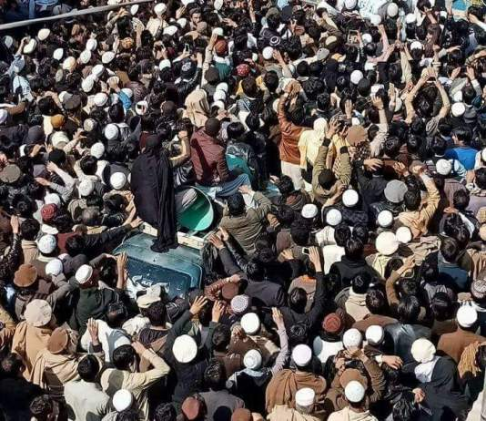 Bajaur residents continue protest against extrajudicial killing of student