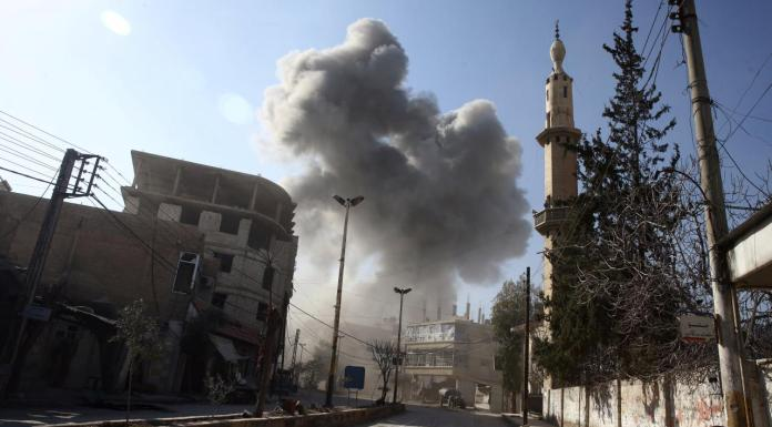 Strikes hit Syria's Ghouta for fifth day as U.N. pleads for ceasefire