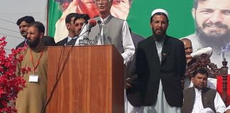 CM Khattak lays foundation stone Kohat University campus in Hangu