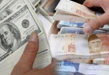 Pakistani rupee weakens sharply against dollar