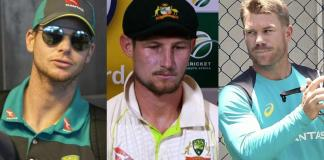 Smith, Warner banned for 12 year, Bancroft for nine months