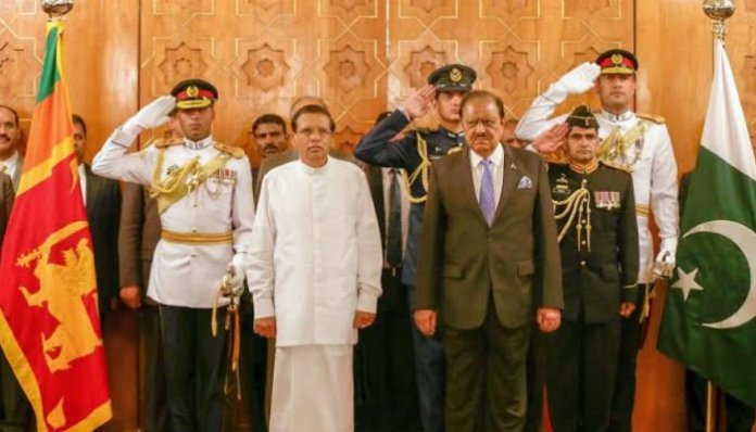 Pakistan, Sri Lanka to increase collaboration for regional peace
