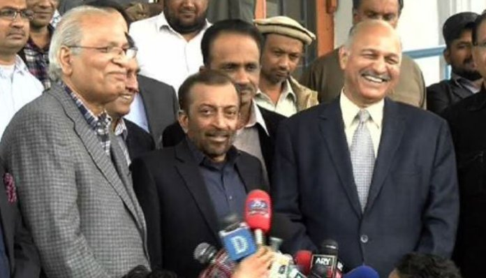 Sattar extends support to Mushahid Hussain in Senate elections