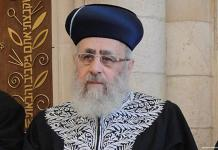 Israeli chief rabbi calls black people 'monkeys'