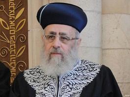 Israeli chief rabbi calls black people 'monkeys'