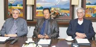 CM Khattak presents report on horse-trading to Imran Khan