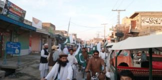 Motorcycle rally organized from Tank to SWA on Pakistan Day