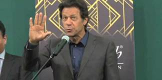 Imran Khan survives from shoe attack, accused arrested