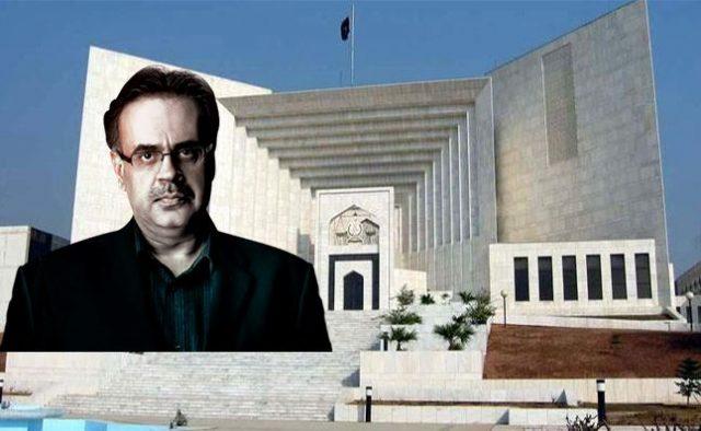 SC imposes 3-month ban on journalist Shahid Masood