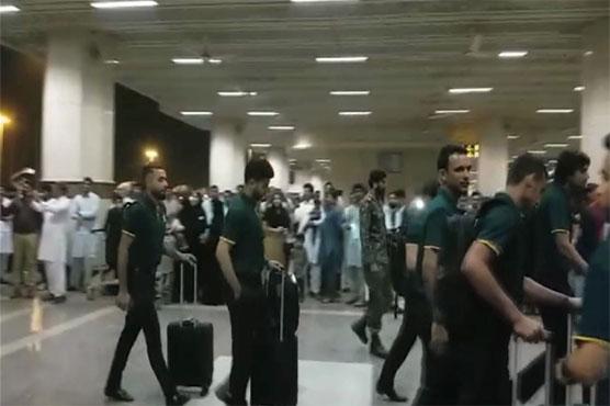 Pakistan cricket team leave for Ireland, England tours