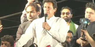 Nawaz's development campaigns only visible in advertisements: Imran Khan