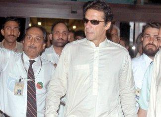 Khan lands in Lahore, to visit membership camps in city