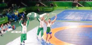 Pakistan's wrestler Inam bags gold medal in Commonwealth games 2018