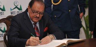 President Mamnoon signs FATA-KP merger bill