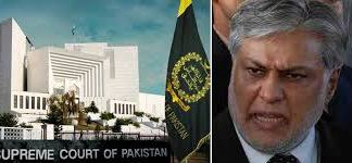 SC seeks report on steps taken to bring back Ishaq Dar