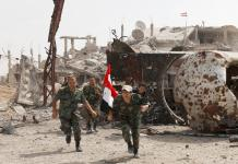Syrian army tightens noose around Palestinian camp