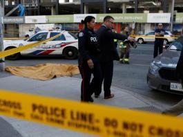 Driver kills 10, injures 15 plowing van into Toronto sidewalk crowd