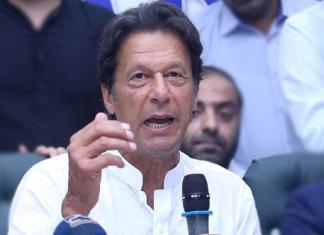 Imran Khan asks caretaker PM to remove KP governor