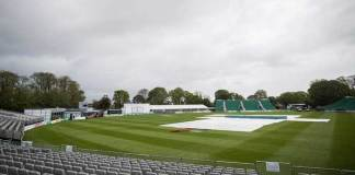 Opening day of Pakistan, Ireland Test washed out