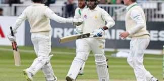 Pakistan 310-9 declare in only Ireland Test