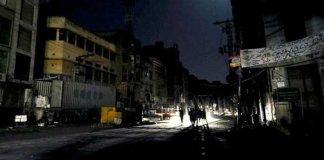 Major power breakdown hits most parts of KP, Punjab