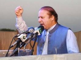 Nawaz Sharif accuses Imran Khan of deceiving people of KP