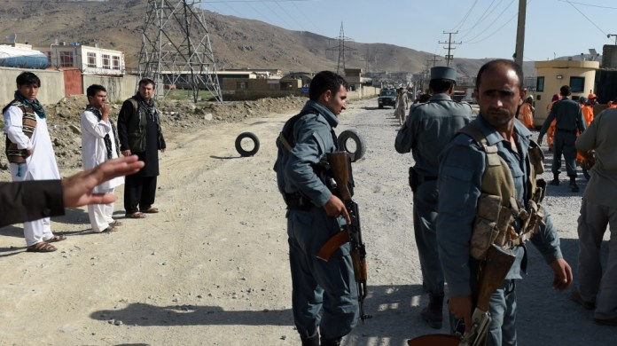 Suicide bomb kills 3 police, wounds 12 in Afghanistan