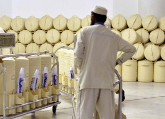100 samples of Zamzam water tested everyday