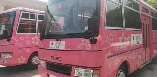 Japan donates 14 buses for welfare of women folk in Khyber Pakhtunkhwa