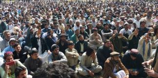 NWA residents end Mir Ali sit-in against targeted killings